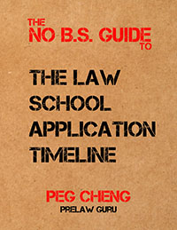 Law School Application Timeline ebook