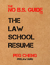 Awesome Law School Resume Ebook Applying ...